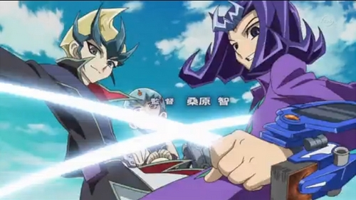 Yu-Gi-Oh! Zexal PRECIOUS 赤ちゃん ARE TOO PRECIOUS (I would post the precious precious Arclights, but I think I've been posting too much about them. :P) BESIDES, KAITO AND 鮫, サメ ARE BEAUTIFUL IN THIS PICTURE.