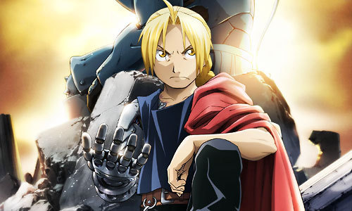 I would not be able to live without Fullmetal Alchemist (either series) . または Hetalia.