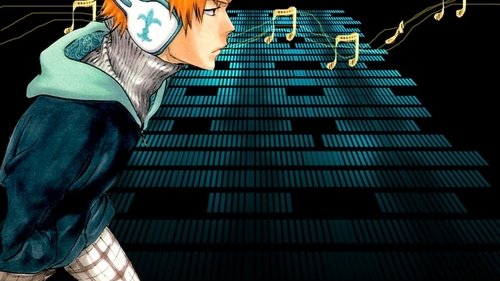 Ichigo from Bleach. I cinta the picture that this came from.