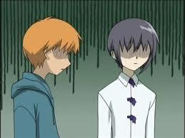 SAY HELLO TO THE TOUGHEST KIDS IN HIGH SCHOOL.....(AKA kyo and yuki sohma) FRUITS BASKET!!!!!