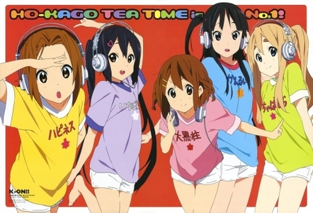 the whole K-ON gain in headphone