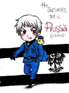 This is my Чиби Prussia from Хеталия :)