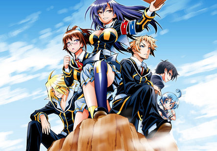 The student council from Medaka Box.