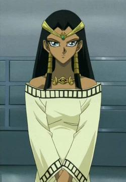 Ishizu Ishtar from Yu-Gi-Oh