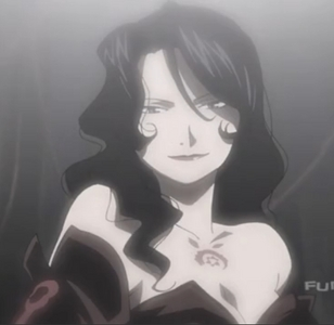 Since Haru-chan is taken I'll go with Lust-san from FMA. I think She's very beautiful!