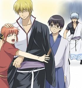 Kintama. Previously known as Gintama. hehe...