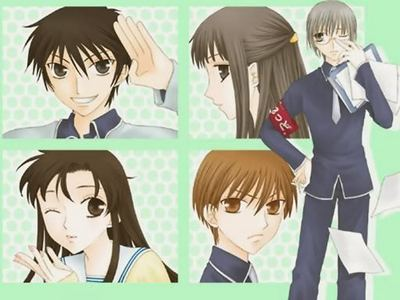 best student councel EVER!!!! is from Fruits Basket ;)