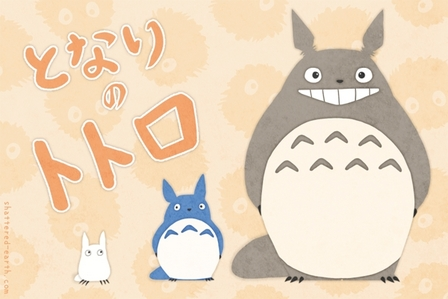 I personally think tu should go with Totoro, just because that movie is like one of my favorito! things in the entire world.