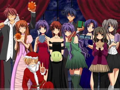 Clannad After Story, definitely. Mostly because it's like, my favourite thing in the entire world...but also because the story as a whole won't make sense until Ты finish it, and it has a really good ending, which is rare for most shows, even American Television.