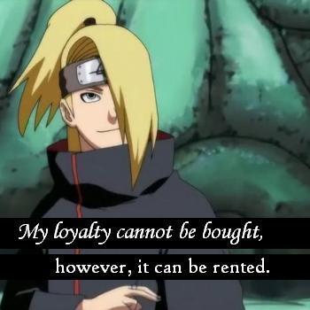 deidara from Naruto :)