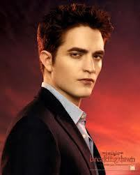 this is mine of Robert Pattinson doing a promotional pic for Breaking Dawn part 1.