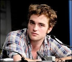 mine is of Robert Pattinson from 2009 Comic-Con wearing plaid shirt.