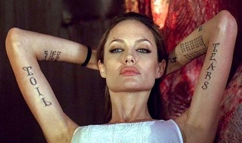 I like a badass smart kickass Women! Like Jolie