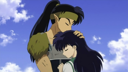 Koga and Kagome!!!! :D