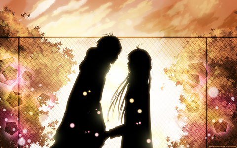 Kazehaya and Sawako from Kimi ni Todoke~ :)