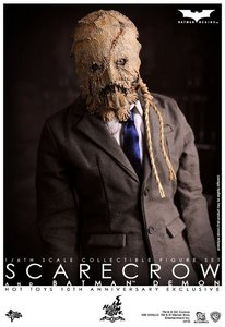 Scarecrow......but I also feel that being a broke college student has something to do with it too. Seeing as how cheap it should be to make it. stitched up burlap sacks, suit. done.(mayhaps a cheap voice changer thingy for effect.....and mace.)