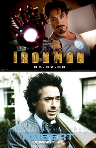1.) haha nooo sorry XD 2.) the serious one with Robert Downey Jr.