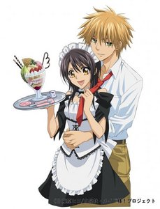 Misa and Usui from kaichou wa maid-sama