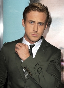 Ryan Gosling. Look at him, he's just perfect ♥!