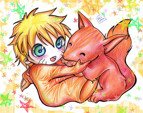 Baby Naruto Aaawwwww My Glob!!! There should be an episode in Naruto were he is just a toddler doing cute things!