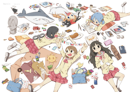 I'm a doctor (as far as anda know xD) and I say Nichijou is good for your health!~ anda can watch it here: http://www.crunchyroll.com/my-ordinary-life/episode-1-motivation-573100