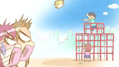 anda should watch Poyopoyo Kansatsu Nikki it's really funny, itll make anda smile even if youre sick :)