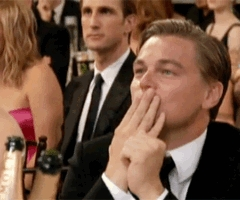 when kate won best actress at the golden globes for revolutionary road. a wonderful moment <3