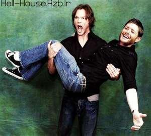 "Jared Holding ""someone""! Jensen of course!"