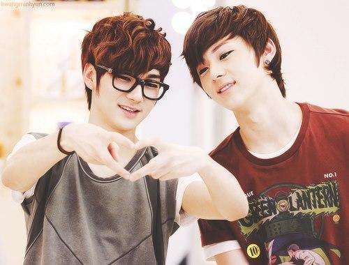 [b]Minhyun & Aron[/b]