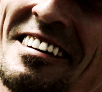 flawless Knepper teeth of course