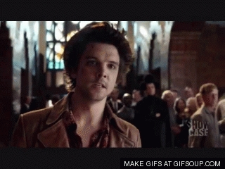 Hatter seeing Alice leave to never come back. Beautifully played द्वारा Andrew Lee Potts!