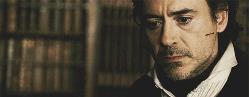 Sherlock Holmes when he found out that Irene Adler died =/