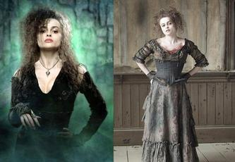Halloween isn't really a big thing here in Finland, but we are gonna have a Halloween party with my friends. I think i'm gonna be a mix of Bellatrix Lestrange and Mrs.Lovett...:D