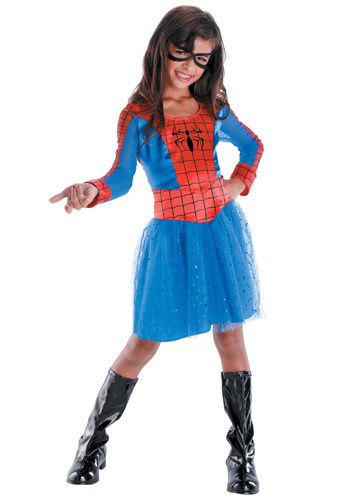 Well i want to be multiple things like spidergirl,little red riding hood,captain america girl,and iron girl. But if I HAD to choose one,it would be Spidergirl.