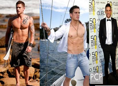 I प्यार these of Dan Ewing ;) Number 1 cause I प्यार him without his कमीज, शर्ट on and also it potrays him as his character Heath. Number 2 cause I just think open shirts are simply SEXY and blue tight jeans fit it :) Number 3 cause a black and white suit is ALWAYS sexy on a handsome guy :)