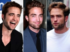 here is mine of Robert Pattinson wearing 3 different outfits.He looks sexy in all 3.