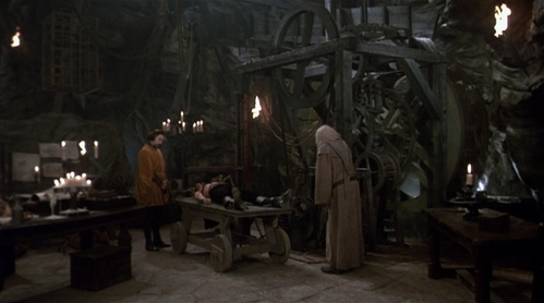 The Machine. Slow and painful, but it's quite innovative and insane. Plus it's from one of my Избранное Фильмы ever, The Princess Bride.