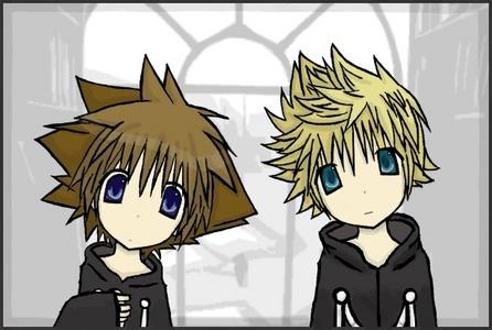Sora and Roxas C:
