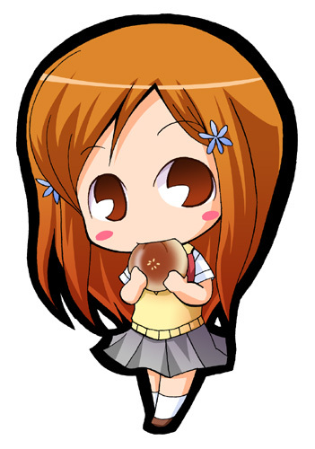 A 날짜 with orihime....? I'd be so happy!I freaking adore that girl she's so cute,sweet and helpful so we'd have a swell time!!