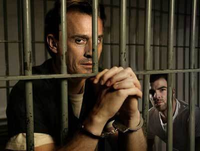 Sexy Rob behind bars! <3333