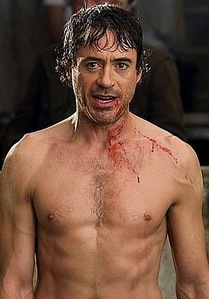 bloody and sweaty Sherlock :]