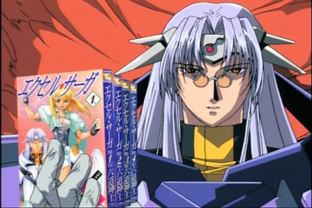 I don't think I've seen an Anime as unique and comedically diverse as Excel Saga. Too bad it was made back in 1999. All it needs to be awesome (on the level of Gun X Sword) are a few jokes that take jabs at Hetalia (I've berkata it before, and I'll keep saying it: Excel Saga is the comedy anime/manga that Hetalia wishes it could be).