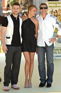 Antonio Banderas, Cameron Diaz and Justin Timberlake