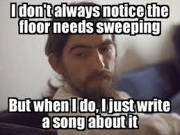 I saw that picture before xD Now here's mine. Beatles humor.