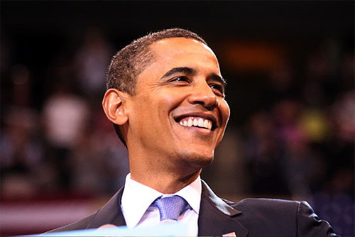 President Obama. He has done alot for this country and will make history.