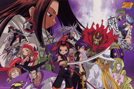 shaman king, oban:star racers , কুরোসিৎসুজি ^^