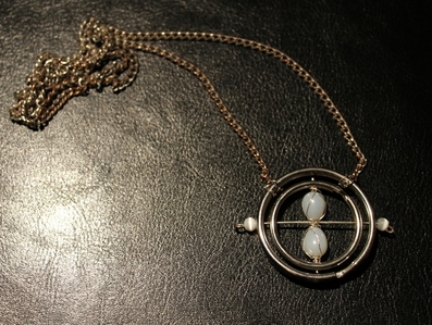 Perhaps if 당신 could include something resembling a time turner, 당신 could add a P.S. at the bottom of the letter suggesting she/he makes good use of it to go back in time to September in order to attend Hogwarts in a timely maner, 또는 something like that... Here's a link to instructions on how to make a time turner: http://www.cutoutandkeep.net/projects/time-turner