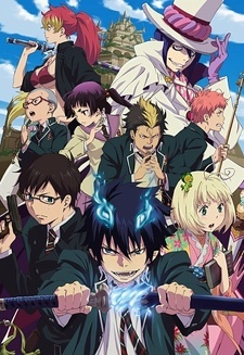 আপনি can try Ao no Exorcist, Baccano, Durarara, Hidan no Aria অথবা অ্যাঞ্জেল Beats