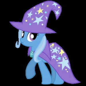 As much as I would hate to admit it, I think Trixie and I might get along.