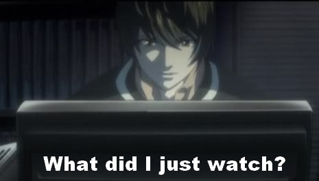 *Le watches video.* ..... .... ... .. .
